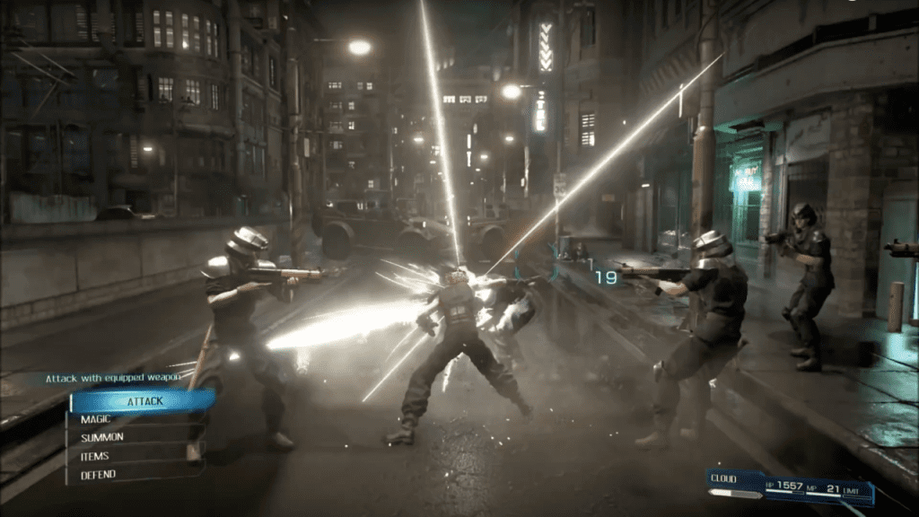 Final Fantasy VII Remake Battles Are Action-Based