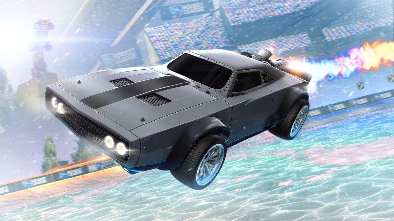 Rocket League DLC Will Add 'Fate of the Furious' Ice Charger