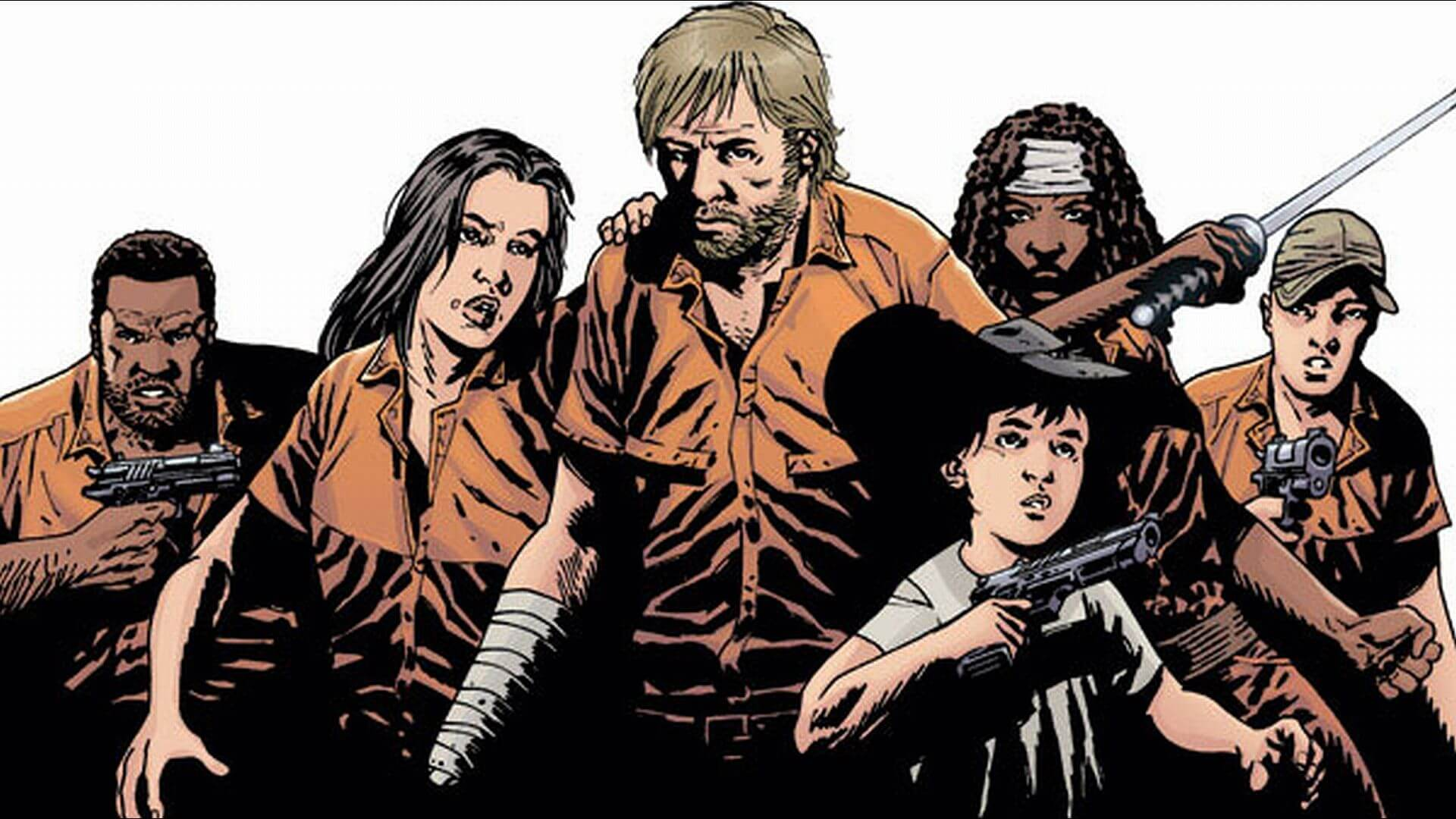 The Walking Dead Compendium Chapter 2 Review