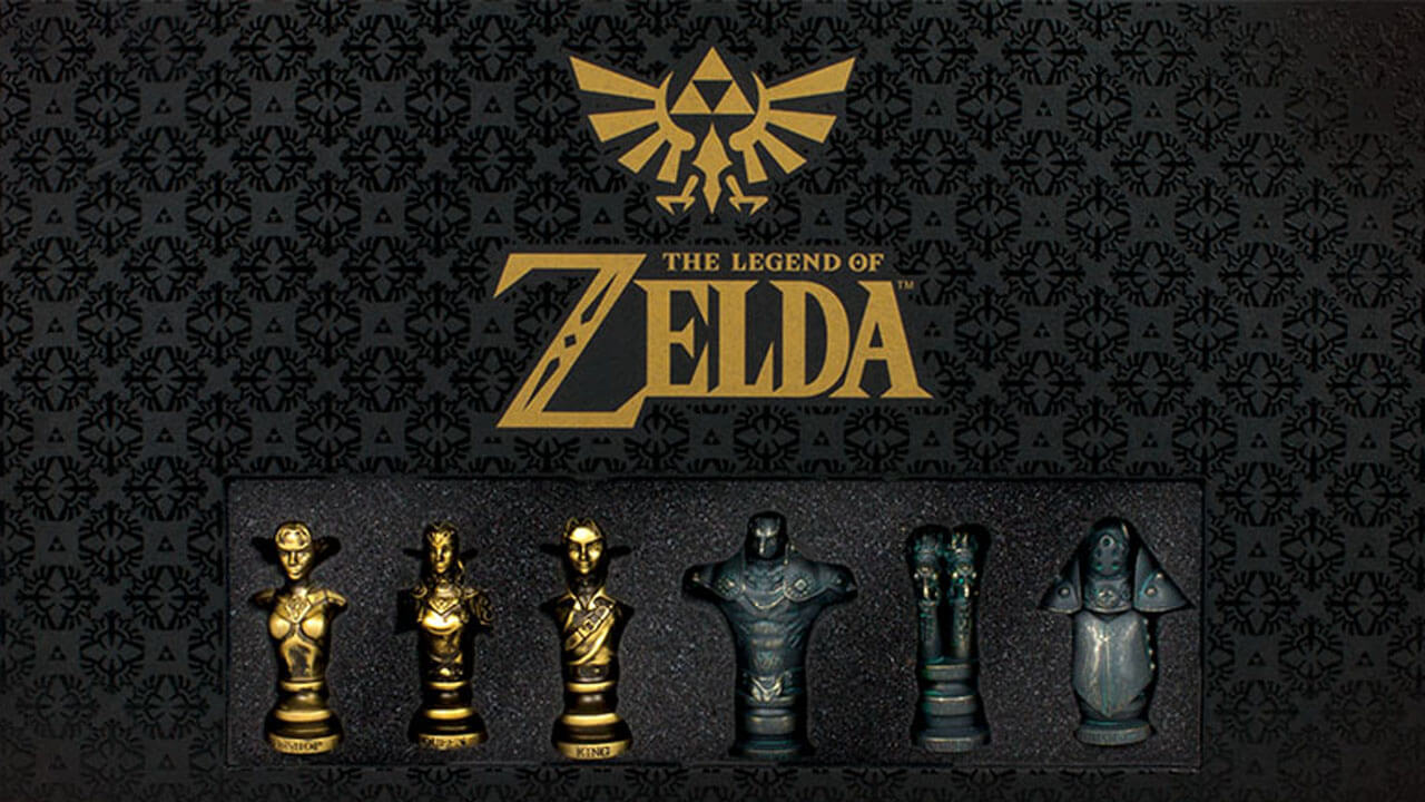 Zelda: Ocarina of Time Chess Set Up For Pre-Order