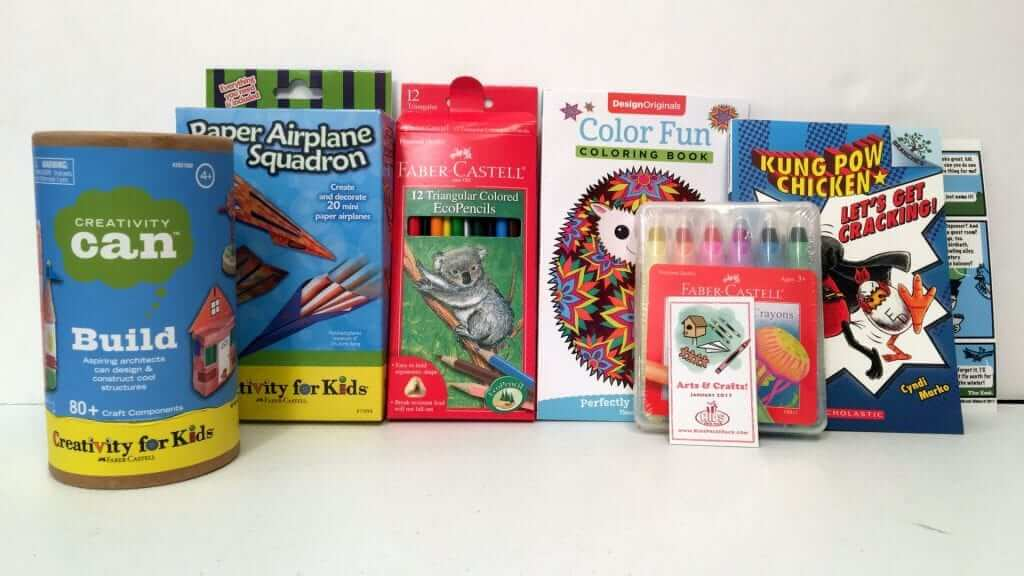 Kids Prize Pack: Books, Arts, Crafts, Toys & Games - Review