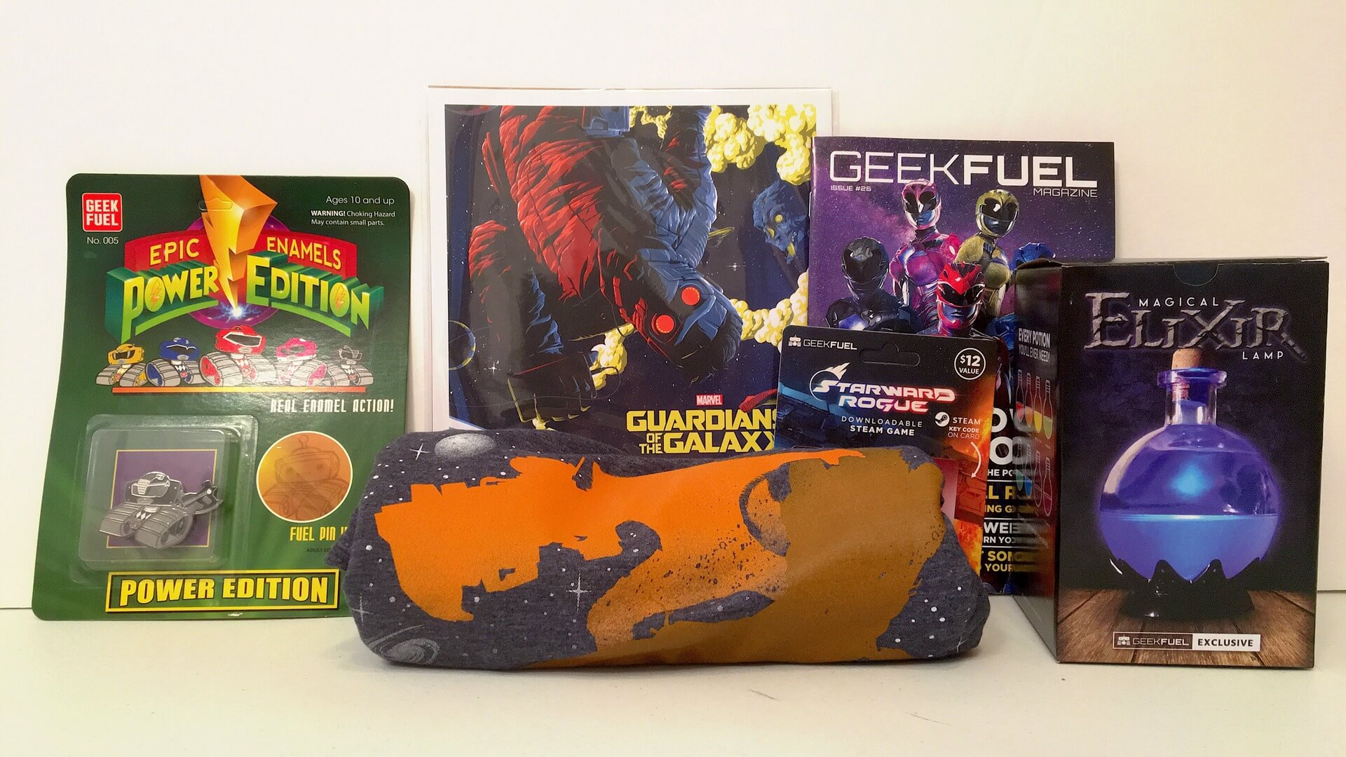 Geek Fuel:  Guardians of the Galaxy, Power Rangers and a Free Downloadable Game - Review