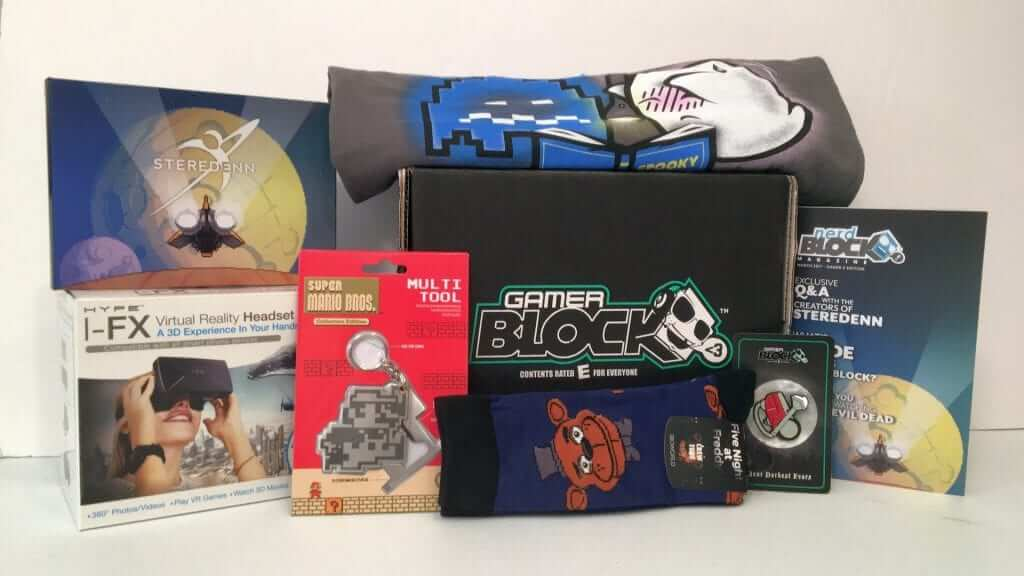Gamer Block: Mario, Five Nights at Freddy's, VR Headsets & More - Review