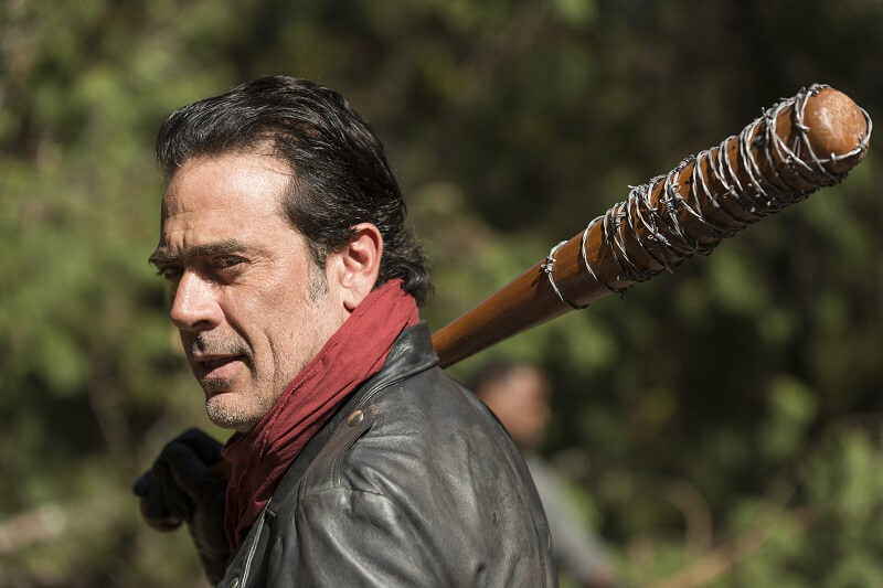 Jeffrey Dean Morgan as Negan - The Walking Dead