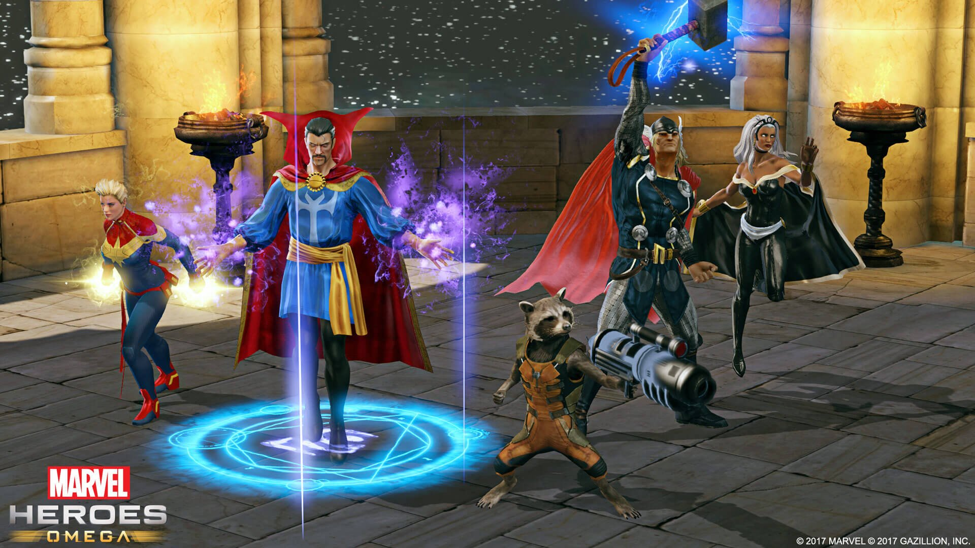 Become a Hero on Consoles with Marvel Heroes Omega Announcement
