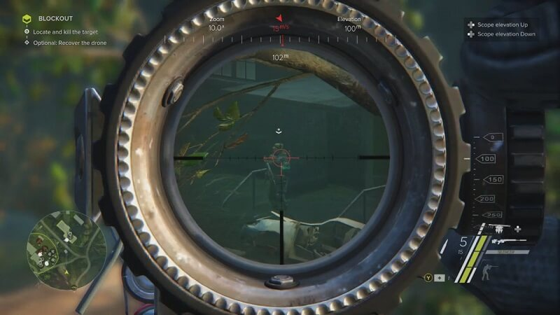 Ghost Warrior 3 Sniper scope picture