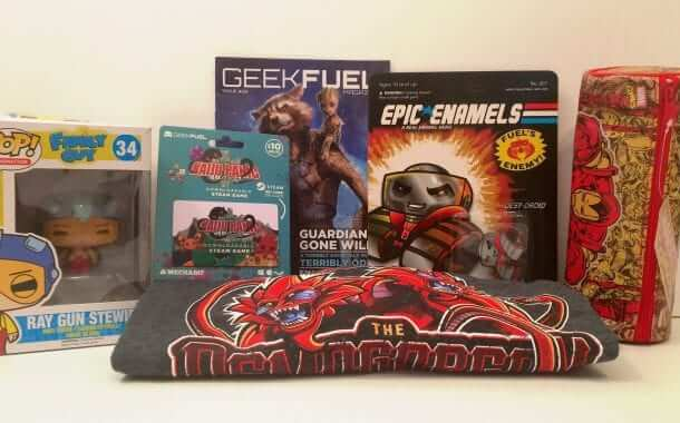 Geek Fuel: A Double Dose of Geeky Goodness! - Review