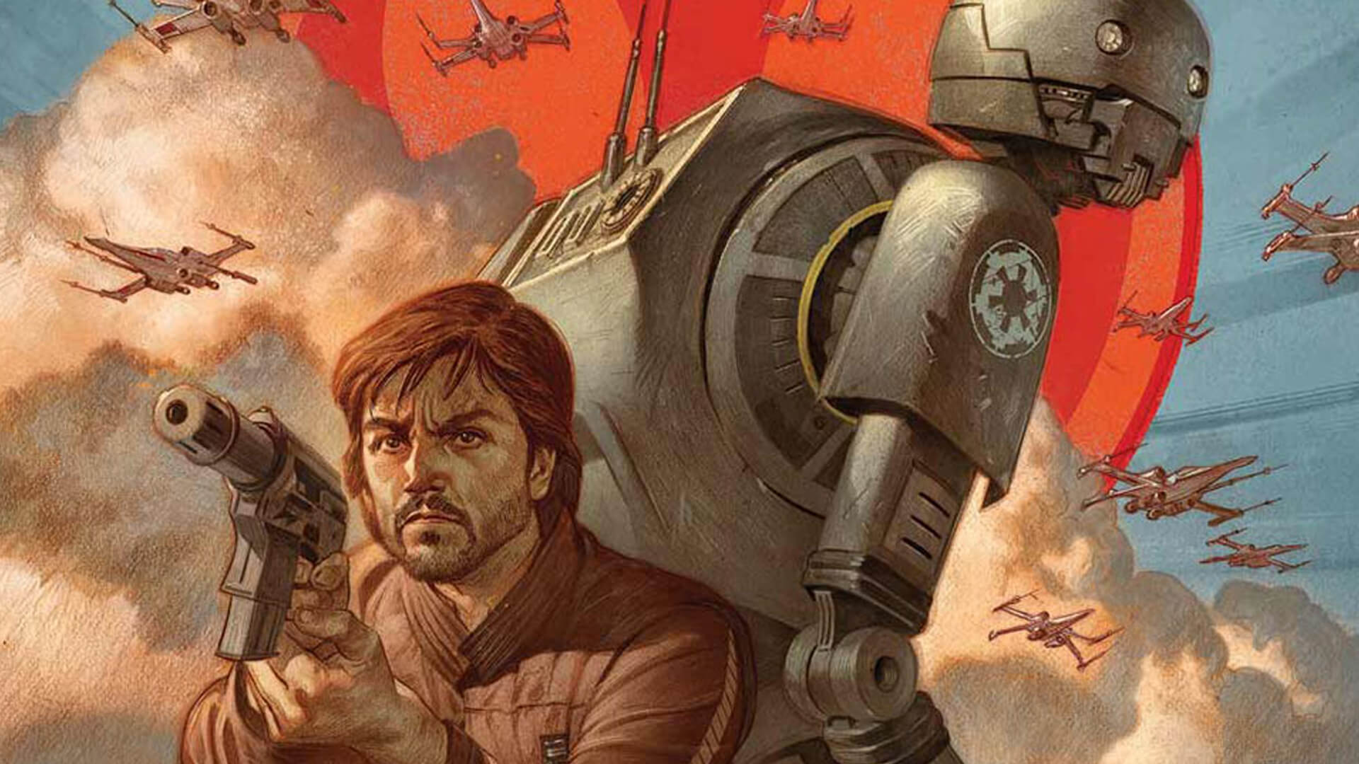 Rogue One Comic About Cassian and K-2SO Coming This Fall