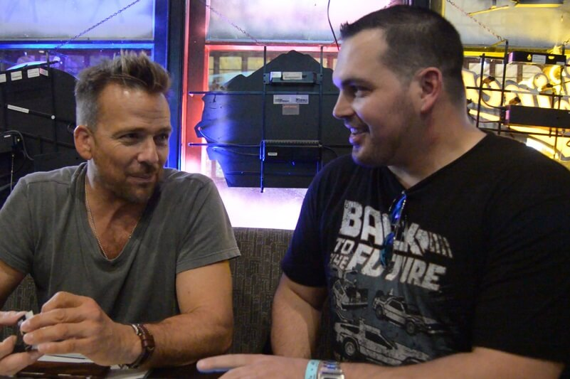 The Nerd Stash interviewing Sean Patrick Flanery