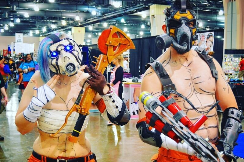Borderlands Cosplay Wizard World Philadelphia 2016