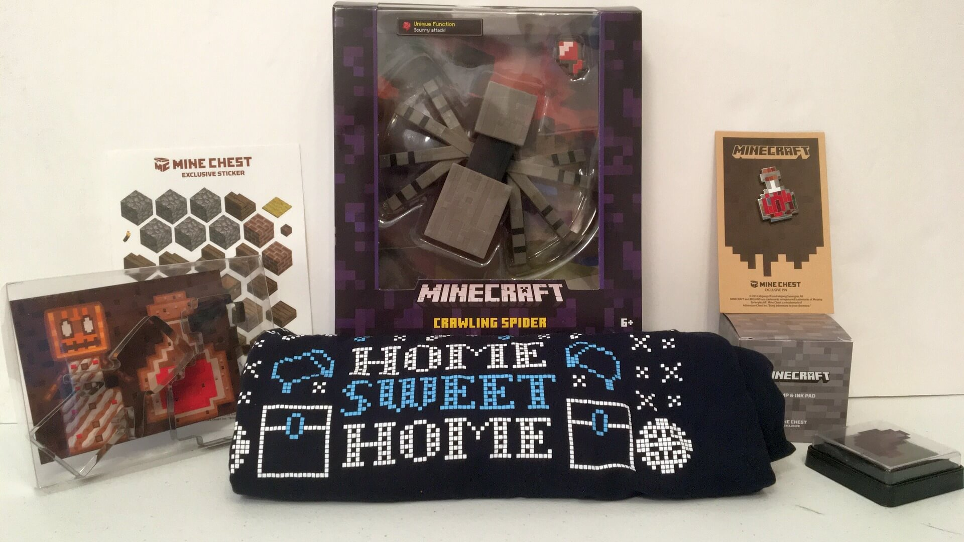 Minechest: A Box of Minecraft Goodies at Your Doorstep - Review