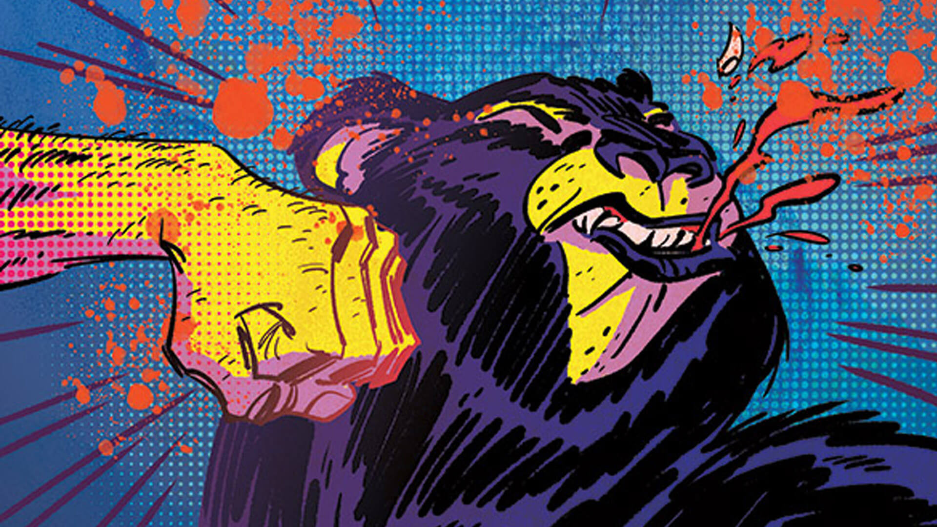 Image's New Comic is About a Shirtless Bear-Fighter, and That's Fantastic