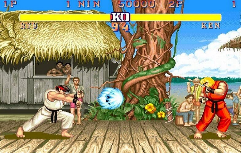 video games hall of fame-street fighter II