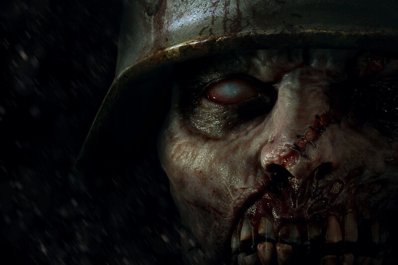 Zombie image from Call of Duty WW2