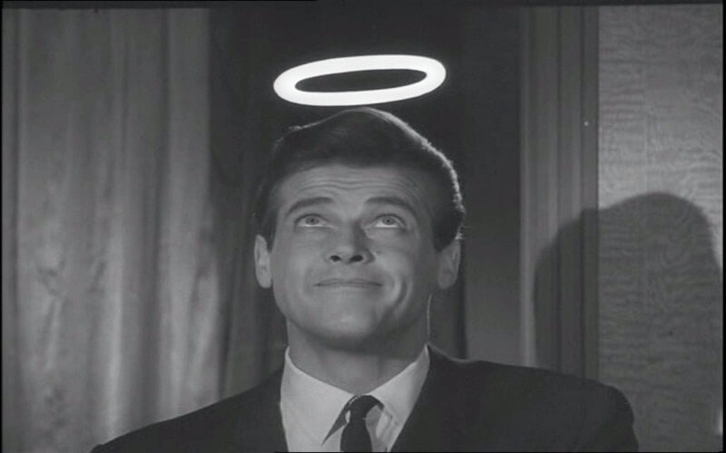 the saint-roger moore