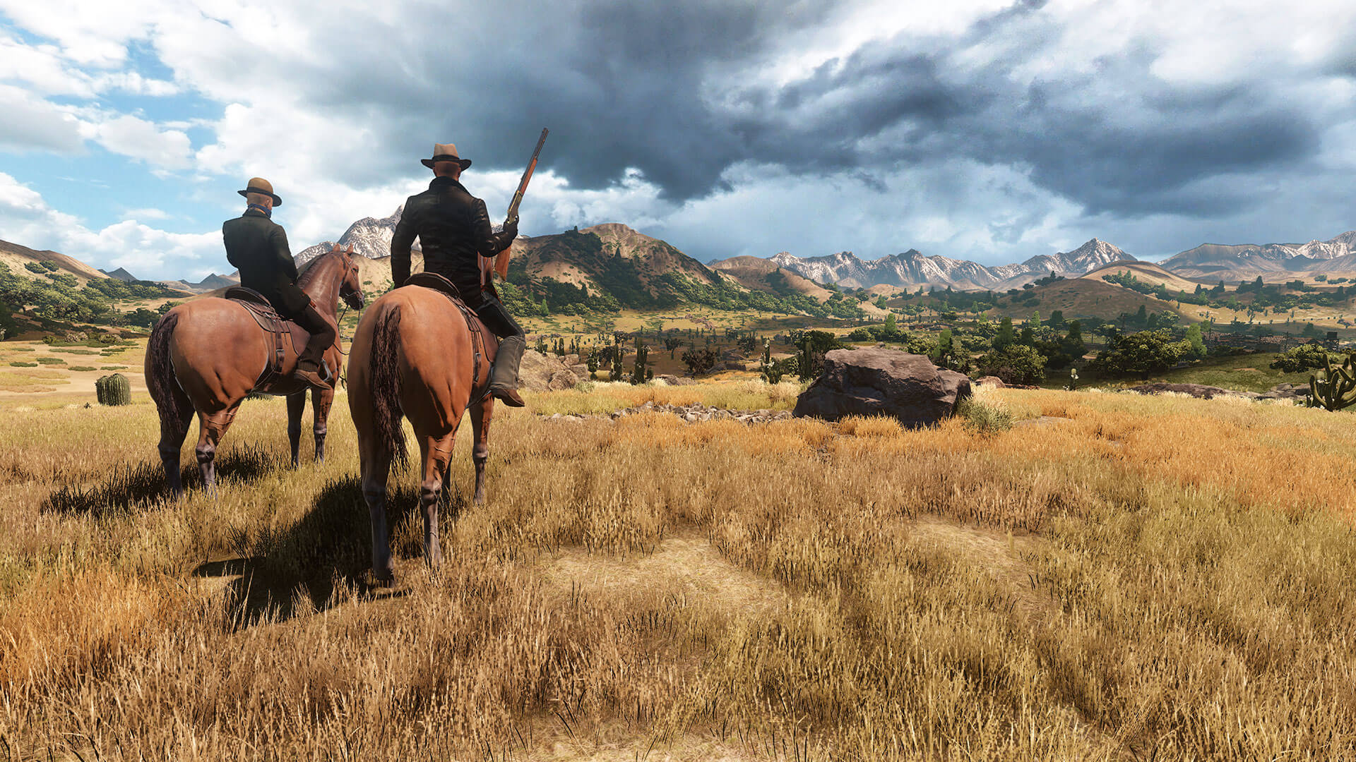 Leaked Red Dead 2 Image Turns Out to Be Upcoming MMO Wild West Online