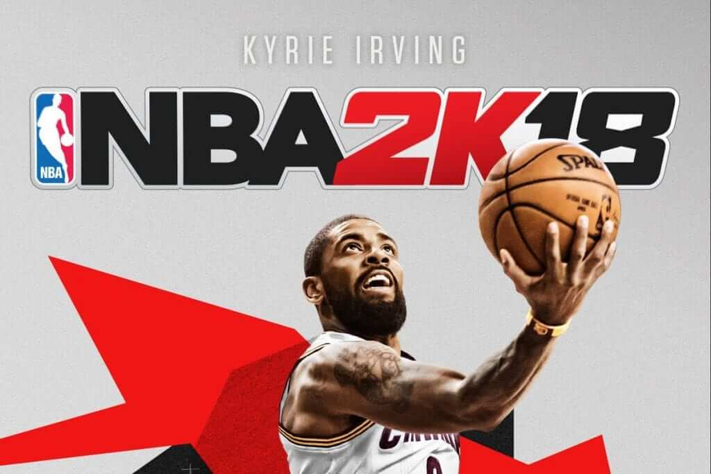 Kyrie Irving Named Cover Athlete For NBA 2K18