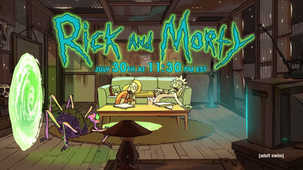 Rick and Morty Season 3 Continues at the End of July