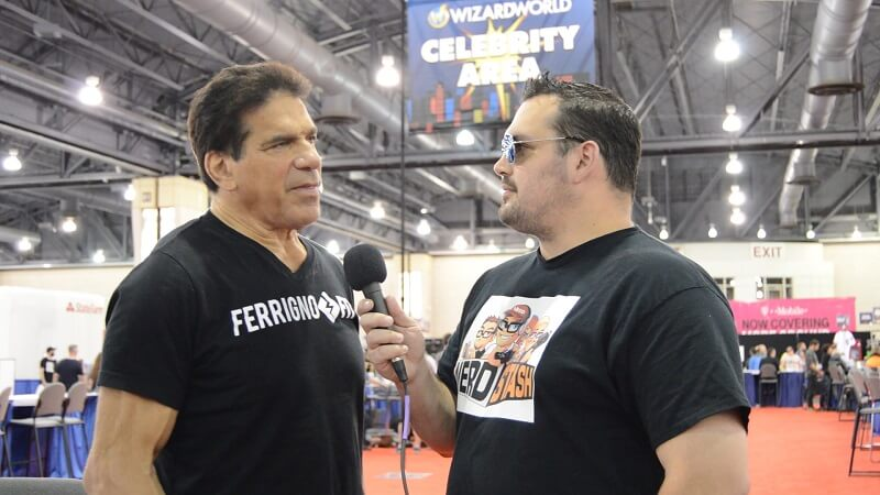 Mr. H0llywood interviewing the legendary Lou Ferrigno