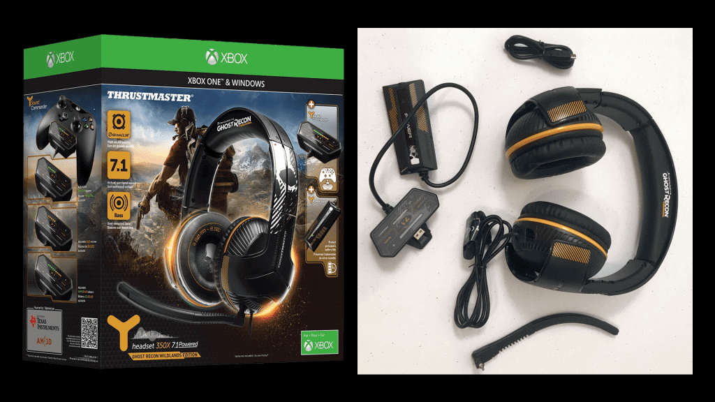 Thrustmaster Ghost Recon Wildlands Y-350X Gaming Headset Review