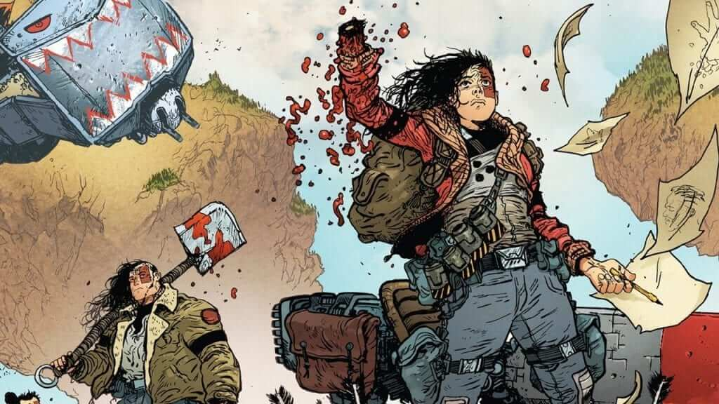 Extremity Vol. 1 Paperback Comic Coming This Fall