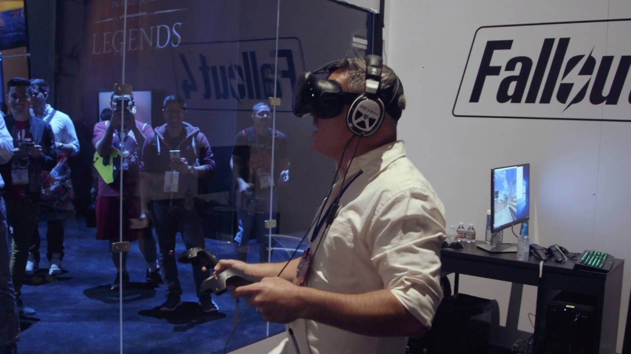 E3 2017: Fallout 4 VR Is A Thing, And It Looks Awesome