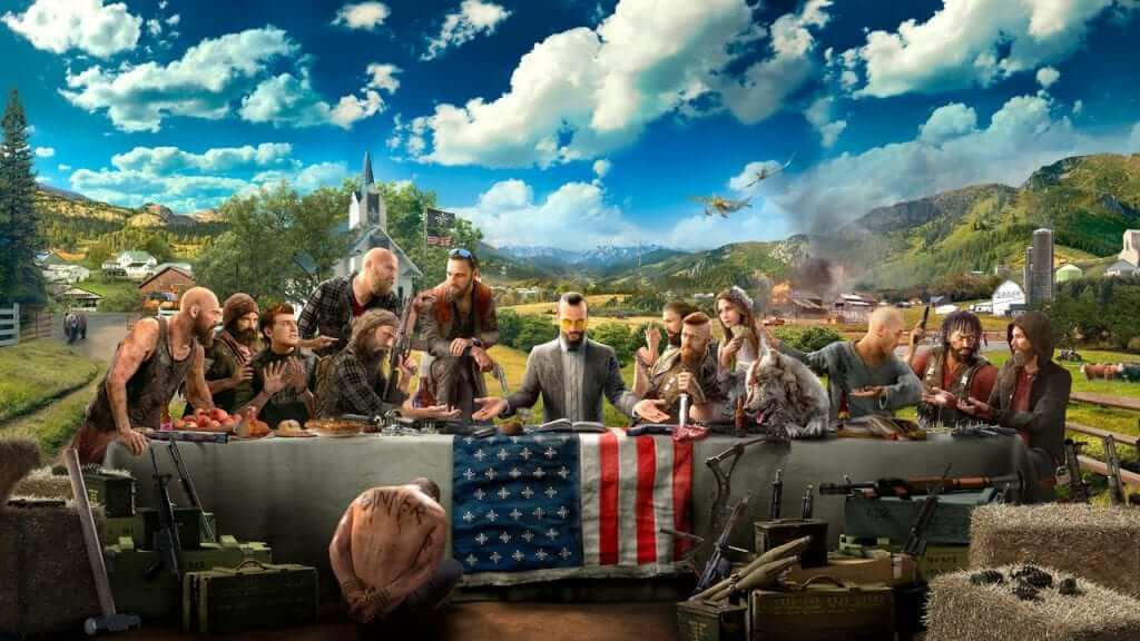 E3 2017: Far Cry 5 Beautifully, Chaotic Gameplay Shown