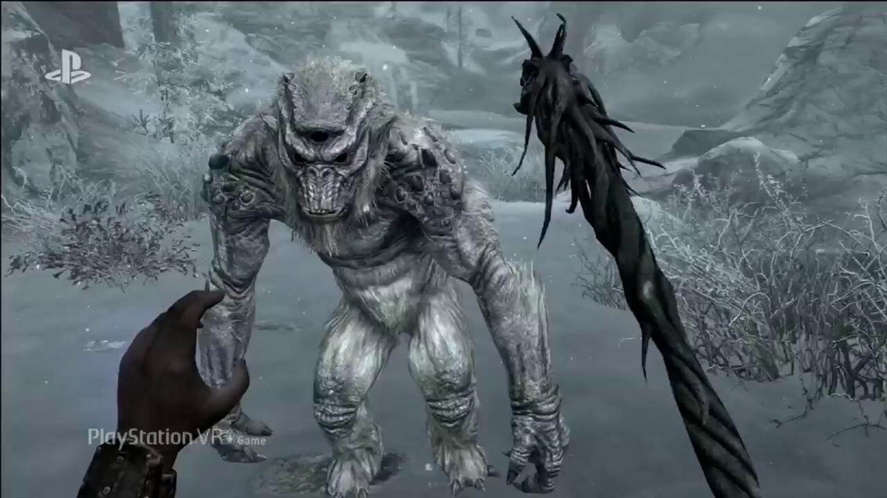 E3 2017: Skyrim for PSVR Officially Revealed