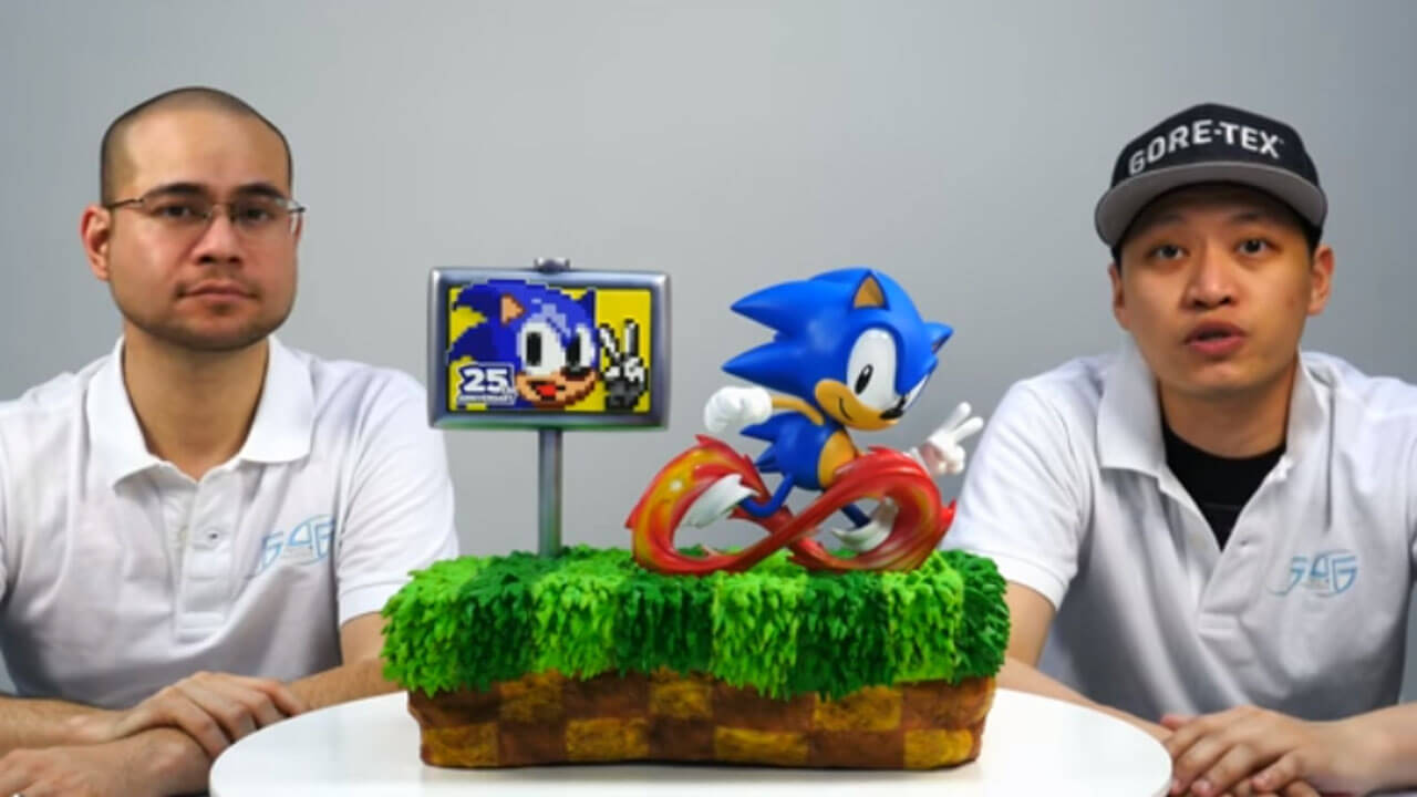 Act Fast to Claim This Sonic Diorama Statue by First 4!