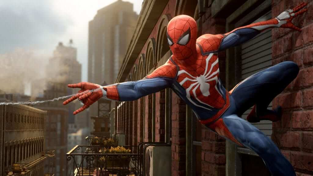 E3 2017: Spider-man Gameplay Shown, and It Is Perfect