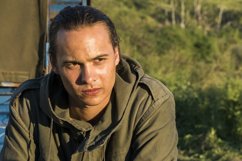 Frank Dillane as Nick Clark - Fear the Walking Dead _ Season 3, Episode 6 - Photo Credit: Richard Foreman, Jr/AMC