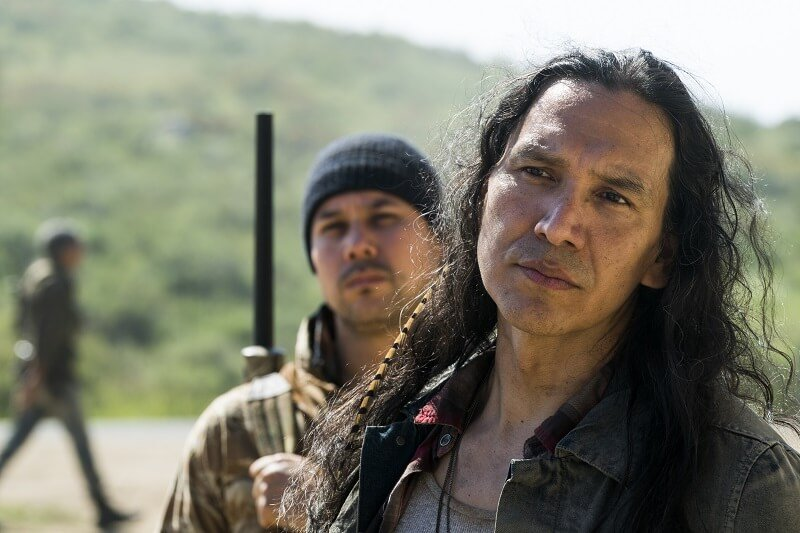 Michael Greyeyes as Qaletaqa Walker - Fear the Walking Dead _ Season 3, Episode 7 - Photo Credit: Richard Foreman, Jr/AMC