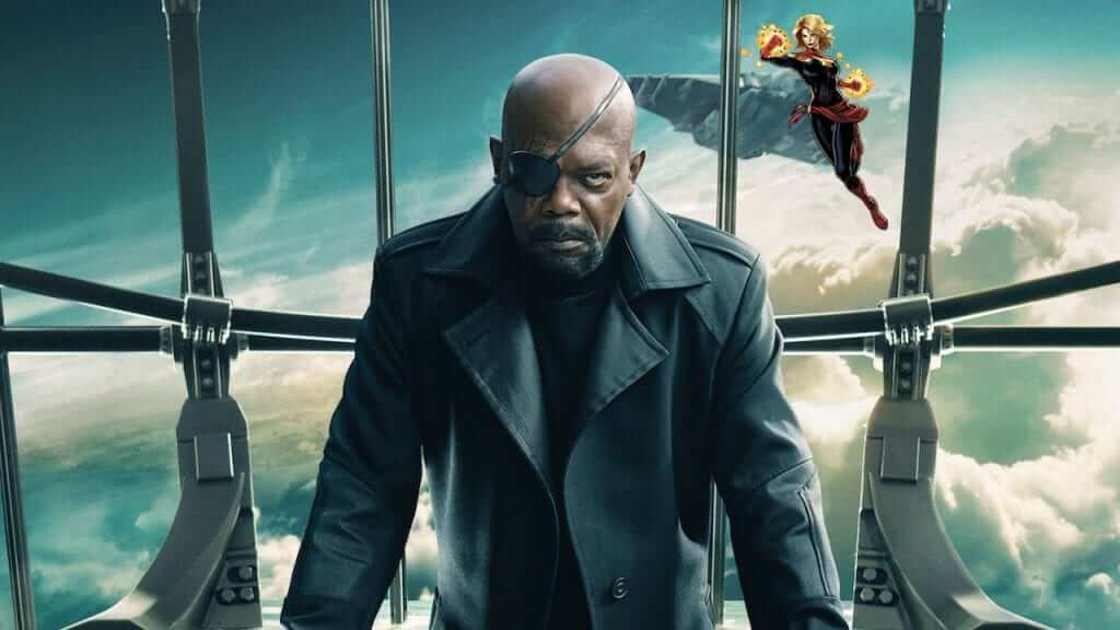 Rumor: Nick Fury may co-star in the Captain Marvel film?