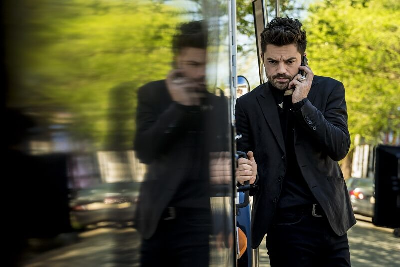 Dominic Cooper as Jesse Custer - Preacher _ Season 2, Episode 6 - Photo Credit: Michele K. Short/AMC/Sony Pictures Television