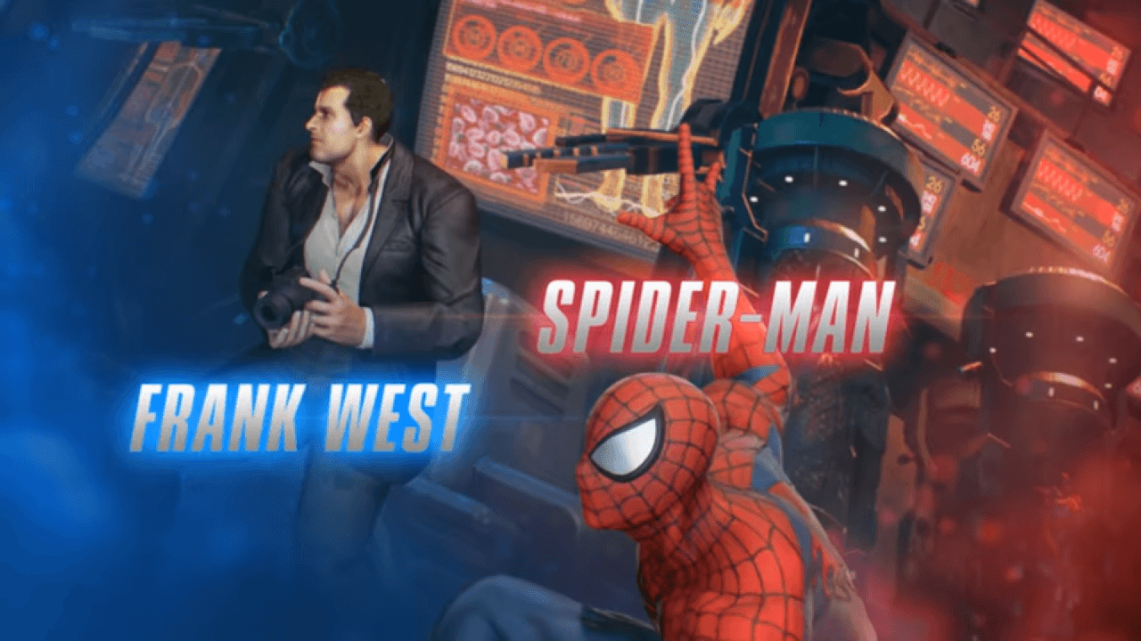 Spider-Man and Frank West - Marvel Vs Capcom: Infinite