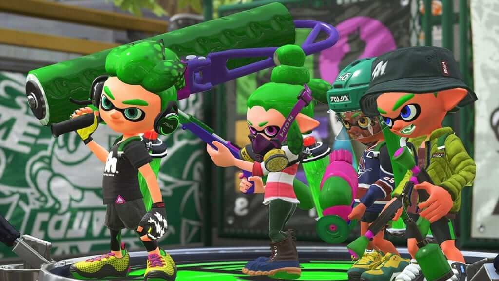 The Art of Splatoon is Heading to Stores Next Week