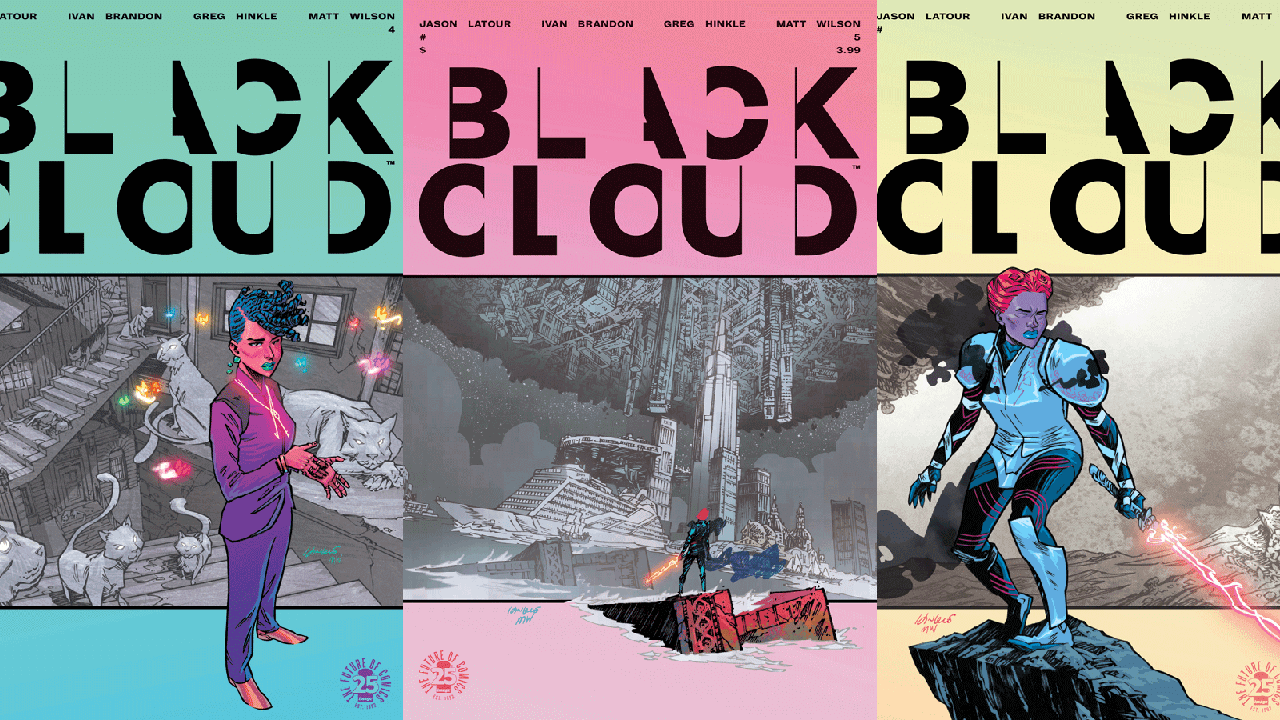 Image Comics to Release Black Cloud Volume 1: No Exit this Fall