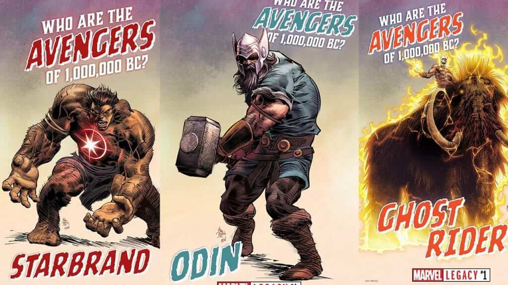 The Heroes that Make up Marvel Legacy: Avengers of 1,000,000 BC