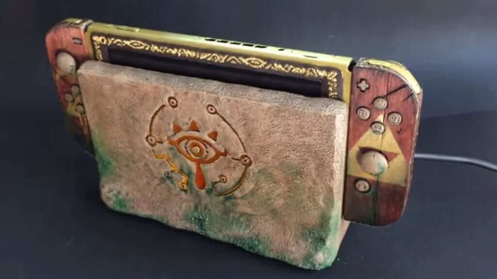 Check Out This Fan-Made Sheikah-Themed Switch!