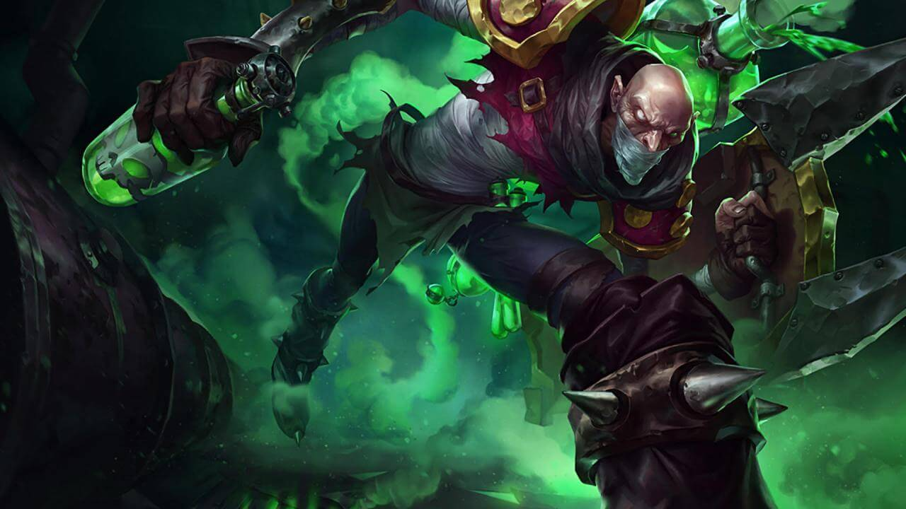 League Of Legends' Singed May Be Getting A New Passive
