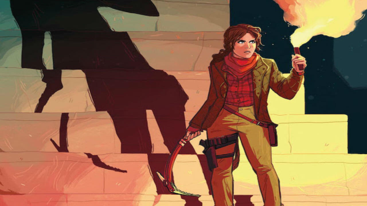 Check out Tomb Raider: Survivor's Crusade, Arc 6 of the Comic Series