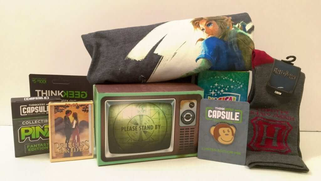 ThinkGeek Capsule Box #1 Review