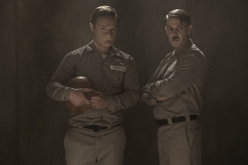 Ian Colletti as Eugene, Noah Taylor as Adolf Hitler - Preacher