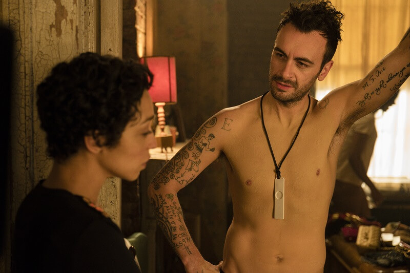 Ruth Negga as Tulip O'Hare, Joseph Gilgun as Cassidy