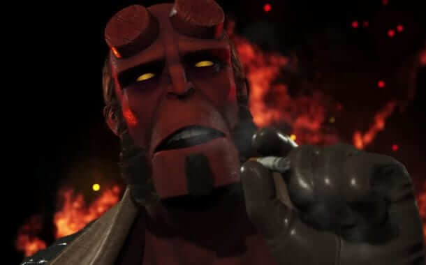 Hellboy Will Become a Playable Character in Injustice 2