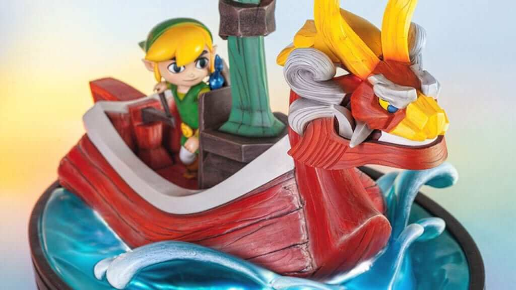 First 4 Figures Presents King of Red Lions Statue