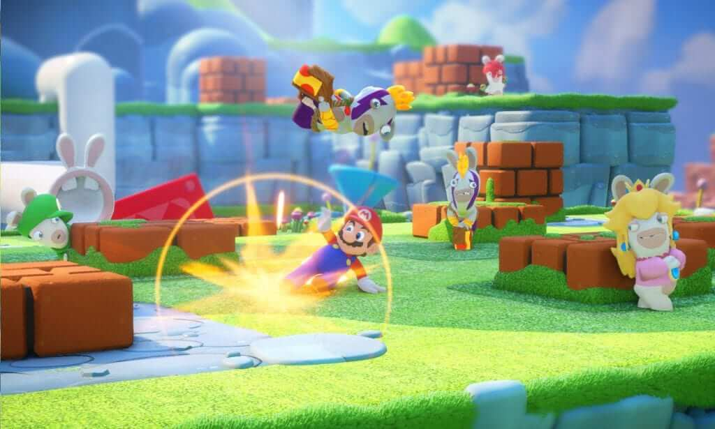 August Games: Mario + Rabbids Kingdom Battle