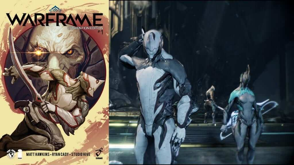 Free To Play Hit Game Warframe is Getting a Comic Adaptation