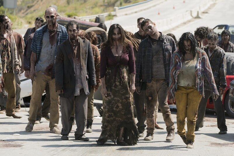 The infected - Fear the Walking Dead