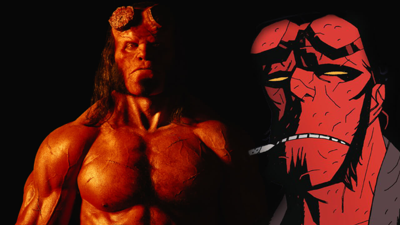 David Harbour is Ripped for Hellboy: Rise of the Blood Queen